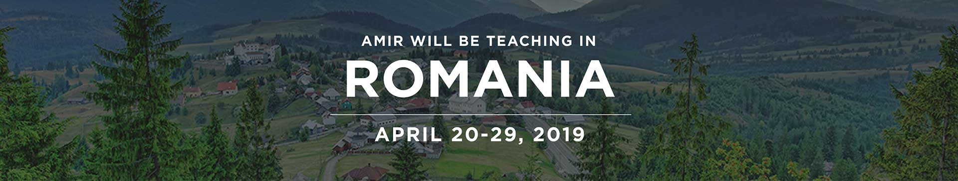 Romania Teaching Event - Behold Israel