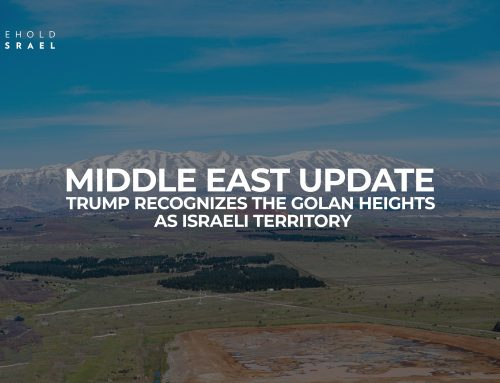 Special Middle East Update: Trump Recognizes Golan Heights