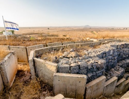 President Trump signed executive order recognizing Golan Heights