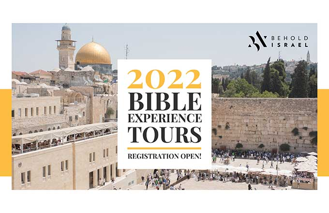 2022 Bible Experiece Tours