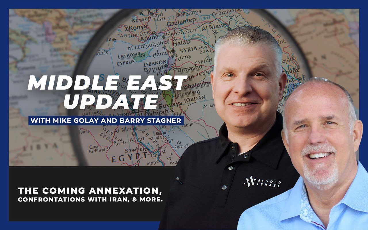 Middle East Update: Pastors Mike Golay and Barry Stagner