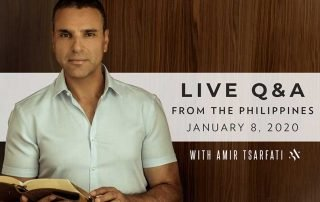 Live Question and Answers with Amir Tsarfati on Facebook Live January 8th, 2020 9 PM