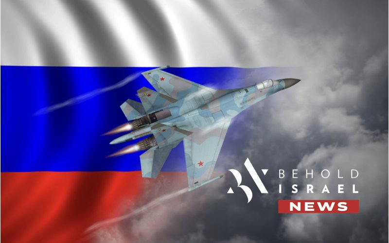 Russian Fighter Jet Comes Within Close Proximity to Israeli Passenger Plane