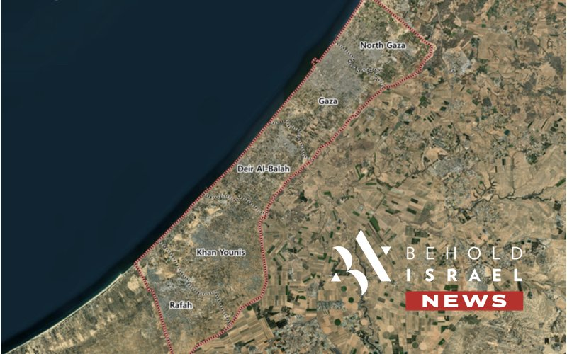 IDF Hits Hamas in Gaza After Militants Fire Rockets Towards Southern Israel