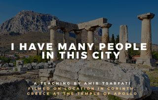 Bible Lands Unveiled: I Have Many People in This City