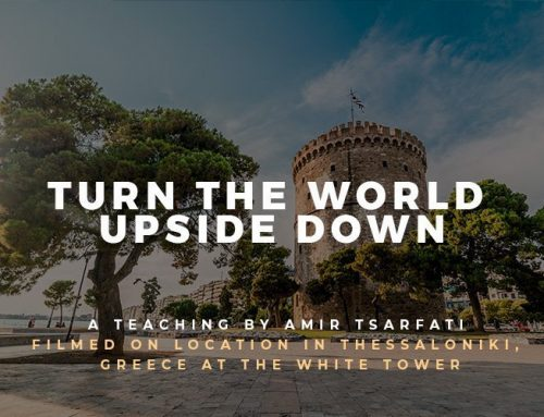 Bible Lands Unveiled: Turn the World Upside Down