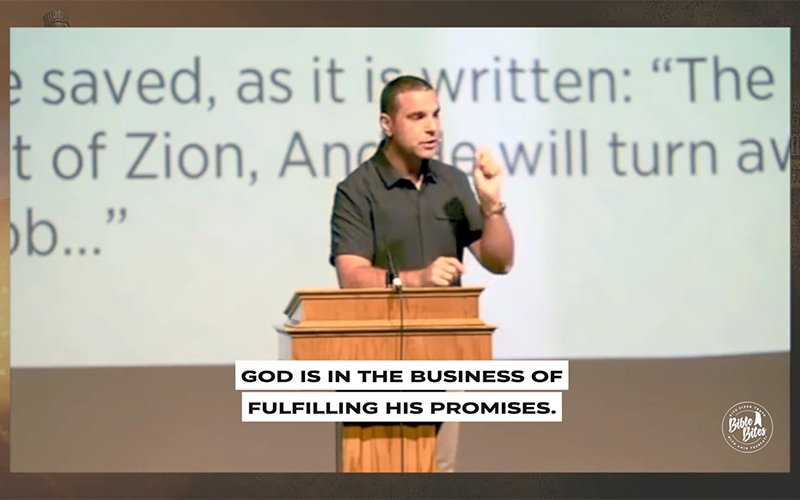 Amir Tsarfati: God is a Promise Keeper