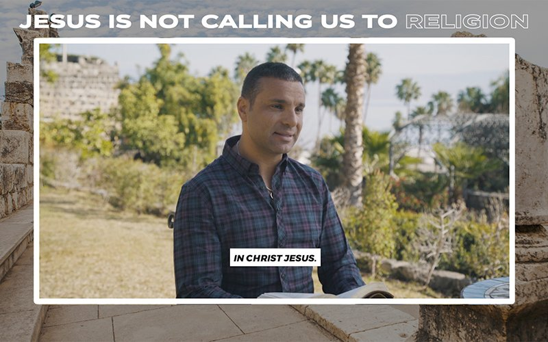 Jesus Is Not Calling Us to Religion