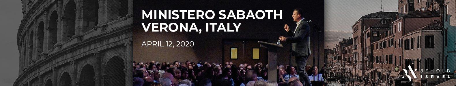 Ministero Sabaoth Verona 2020