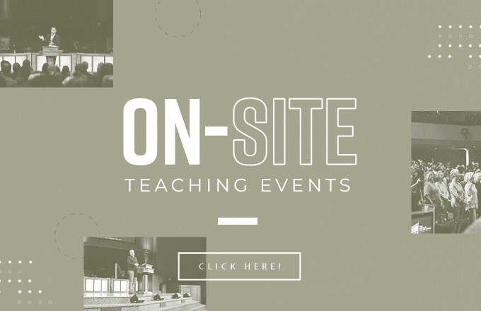Live In Person Teaching Events