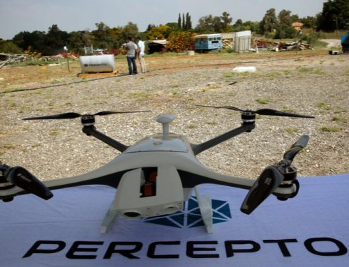 Drone Designed in Israel Receives Nomination for International Security Innovation Award