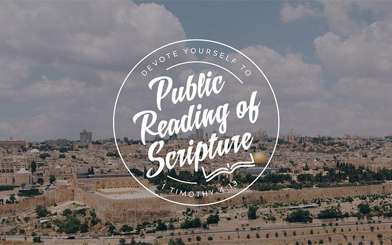 Public Reading of Scripture: U.S. Air Force Chaplain Edition