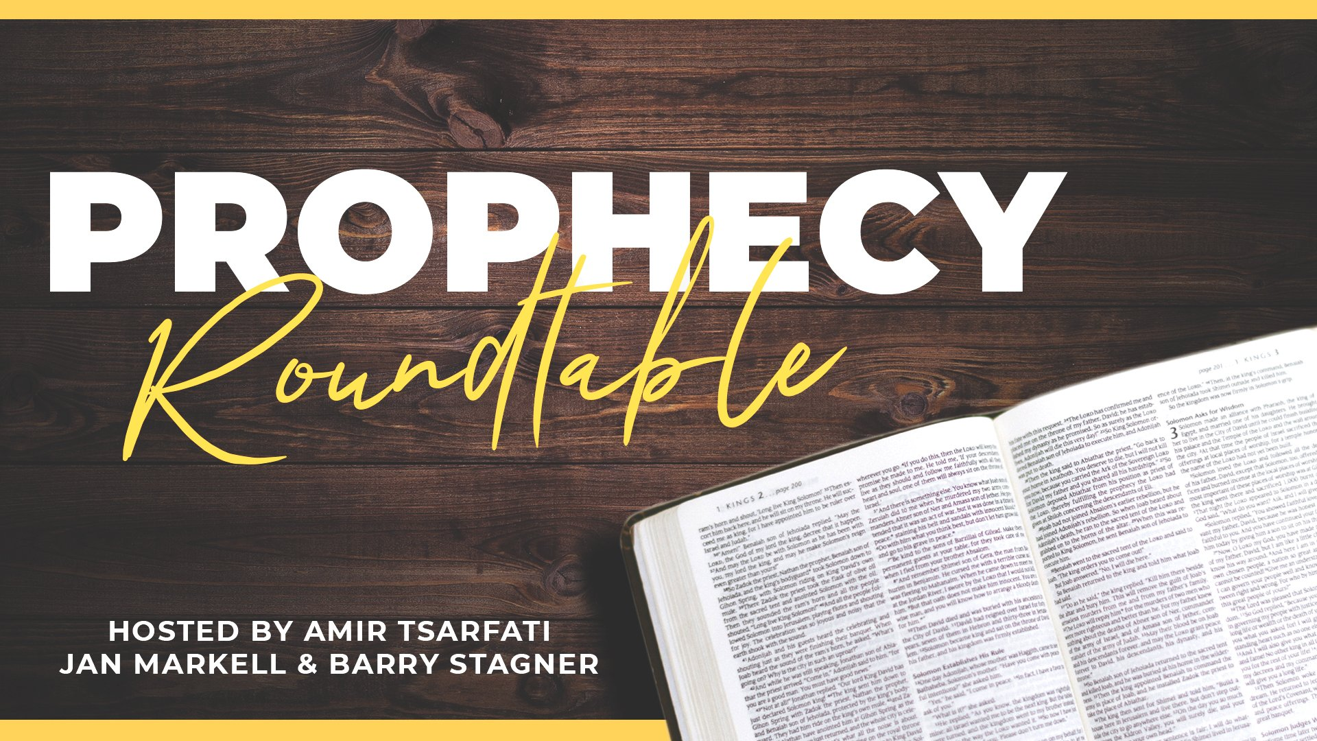 Live Prophecy Roundtable