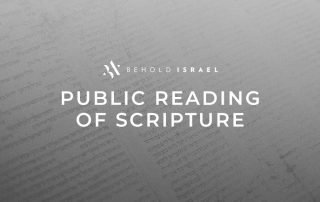 Public Scripture Reading Live on Facebook