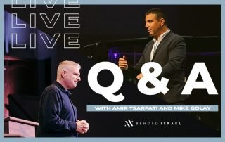 Live Q & A with Amir Tsarfati and Pastor Mike Golay