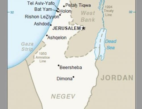United States publishes official map with Golan Heights as Israeli territory