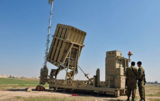 Iron Dome Technology In Action