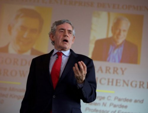 Former British Prime Minister Gordon Brown Voices Support of One World Government