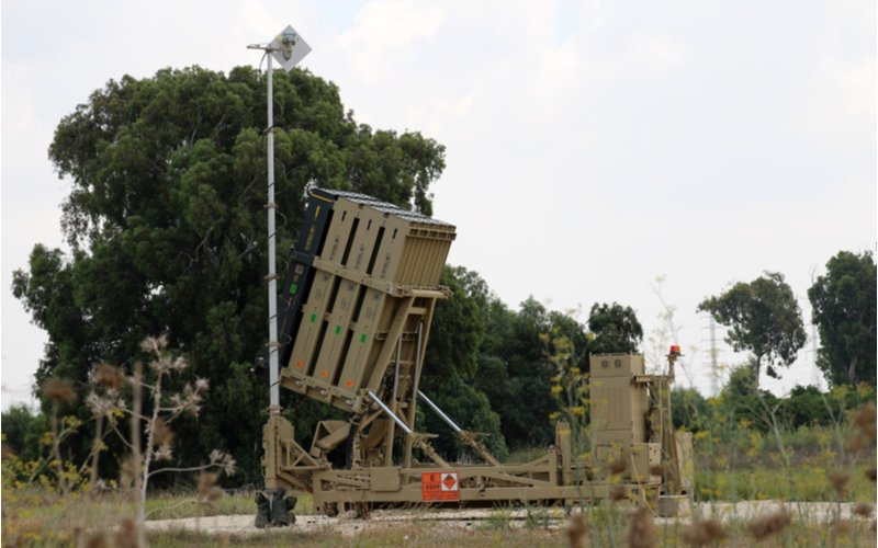 Iron Dome Intercepts First Rocket Launched from Gaza in Almost a Month
